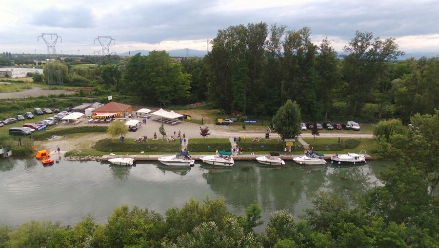 Fête Nautique Assocation Rhône au Rhin Plaisance Biesheim Neuf-Brisach